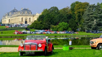 Chantilly Art et Elégance . Club Fiat France