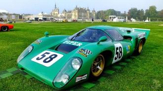 Chantilly Art et Elégance  . Lola T70 MK 3 B GT 1969