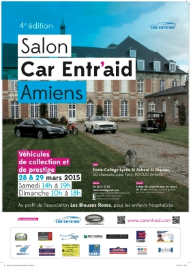 Salon CAR ENTR'AID - Amiens - 28 & 29 Mars 2015 Car-entraid
