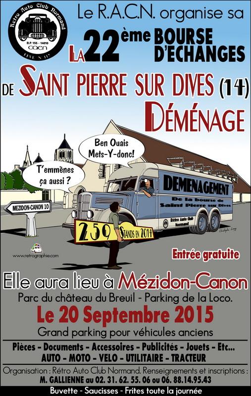 Bourse St Pierre sur Dives