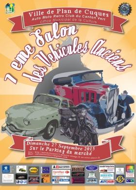 Affiche 7ème Salon des véhicules anciens 2015 final (1)